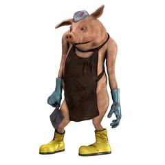 Das Metzgerschwein