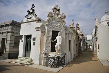 Recoleta Cemetery in Argentina