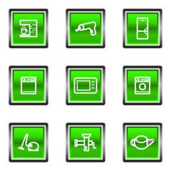 Glossy icon set