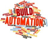 Word cloud for Build automation