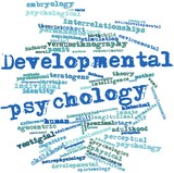 Word cloud for Developmental psychology