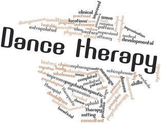 Word cloud for Dance therapy