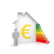 Haus Energiesparen Euro sparen ernegie