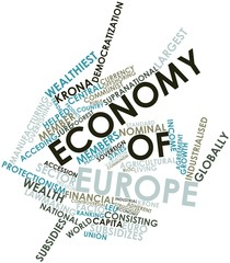 Word cloud for Economy of Europe