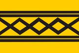 Flag of West Midlands poster
