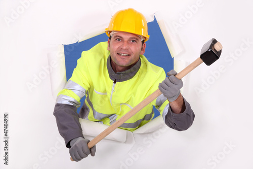 Hi!!! I'm the guy with a hammer