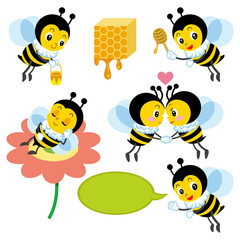 Honeybee Character set