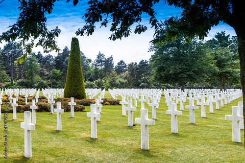 American Cemetery Normandy,France