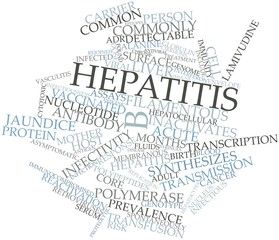 Word cloud for Hepatitis B