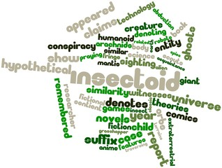 Word cloud for Insectoid