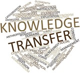 Word cloud for Knowledge transfer