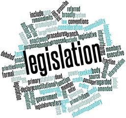 Word cloud for Legislation