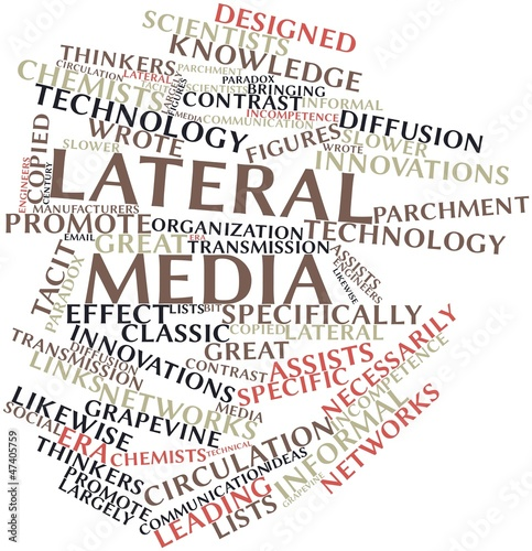 Word cloud for Lateral media