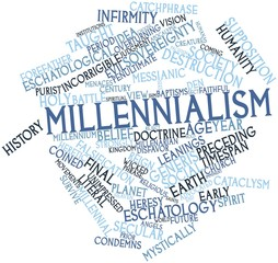 Word cloud for Millennialism