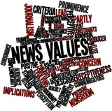 Word cloud for News values