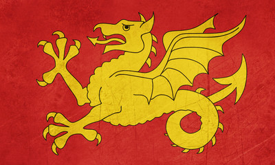 Flag of Wessex region of England
