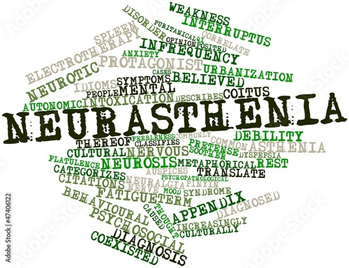 Word cloud for Neurasthenia