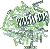 Word cloud for Pranayama