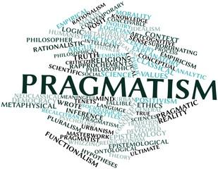 Word cloud for Pragmatism