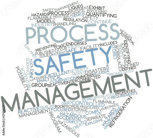 Word cloud for Process safety management