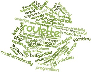 Word cloud for Roulette