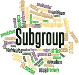 Word cloud for Subgroup