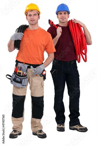 Two masons