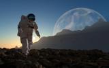 Fototapeta glob - podróż - Pilot / Astronauta