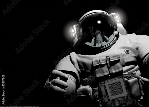 Aluminium Ruimtelijk The astronaut