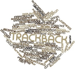 Word cloud for Trackback