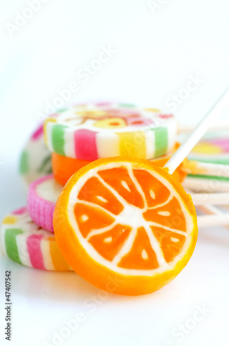 colorful lollypops
