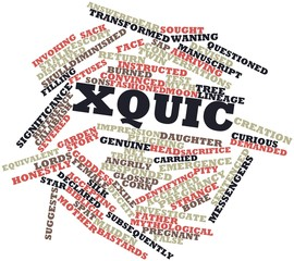 Word cloud for Xquic