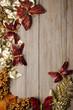 Christmas decorations frame