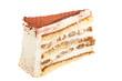 Ein Stück Tiramisu Torte