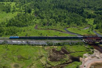 Transsiberian railroad
