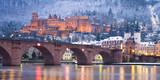 Fototapety Heidelberg im Winter