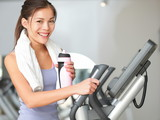 Gym woman fitness workout
