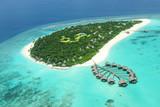 Tropical island in Indian ocean Maldives - 47415906