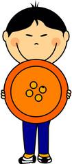 enfant bouton