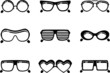 black sunglasses icons