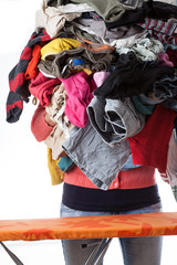 Huge pile of clothes