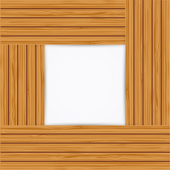 Wooden background. Vector