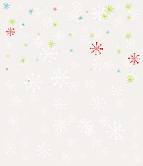 Retro seamless winter pattern