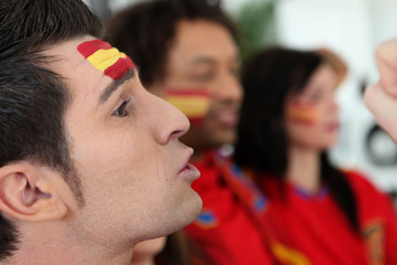 Spain supporter