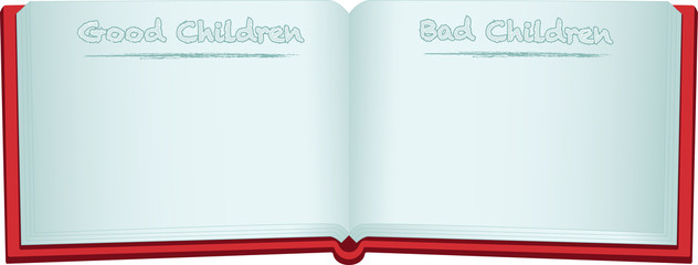 Santa's Good and Bad children book