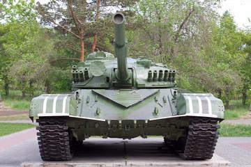 T72 tank museum exhibit
