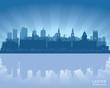 Leeds, England skyline