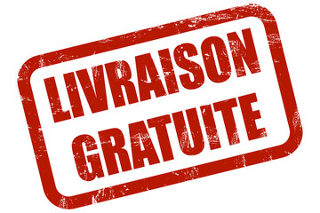 Grunge Stempel rot LIVRAISON GRATUITE