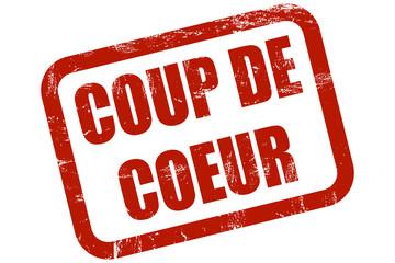 Grunge Stempel rot COUP DE COEUR