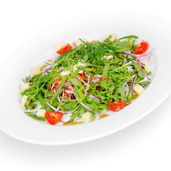 salad with meat elk